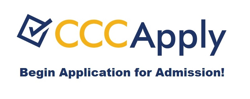 CCCApply Begin Application for Admission!